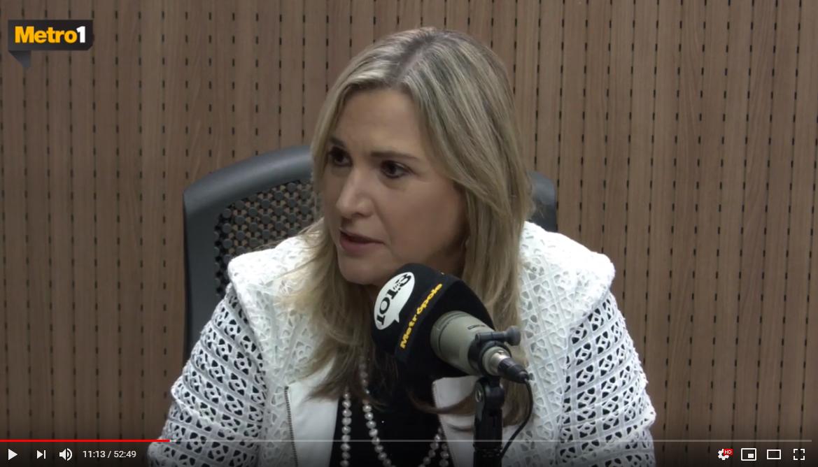 Entrevista da nova Diretora Técnica do Hospital Aeroporto, Dra. Eliane Noya, para o Jornal da Bahia no Ar