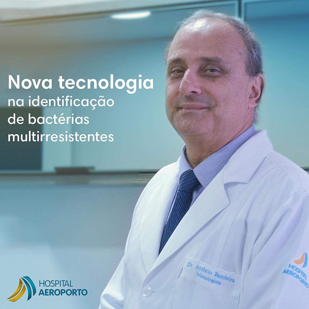 Hospital Aeroporto é um líderes na identificação das bactérias multirresistentes