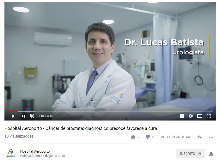 Câncer de próstata: diagnóstico precoce favorece a cura
