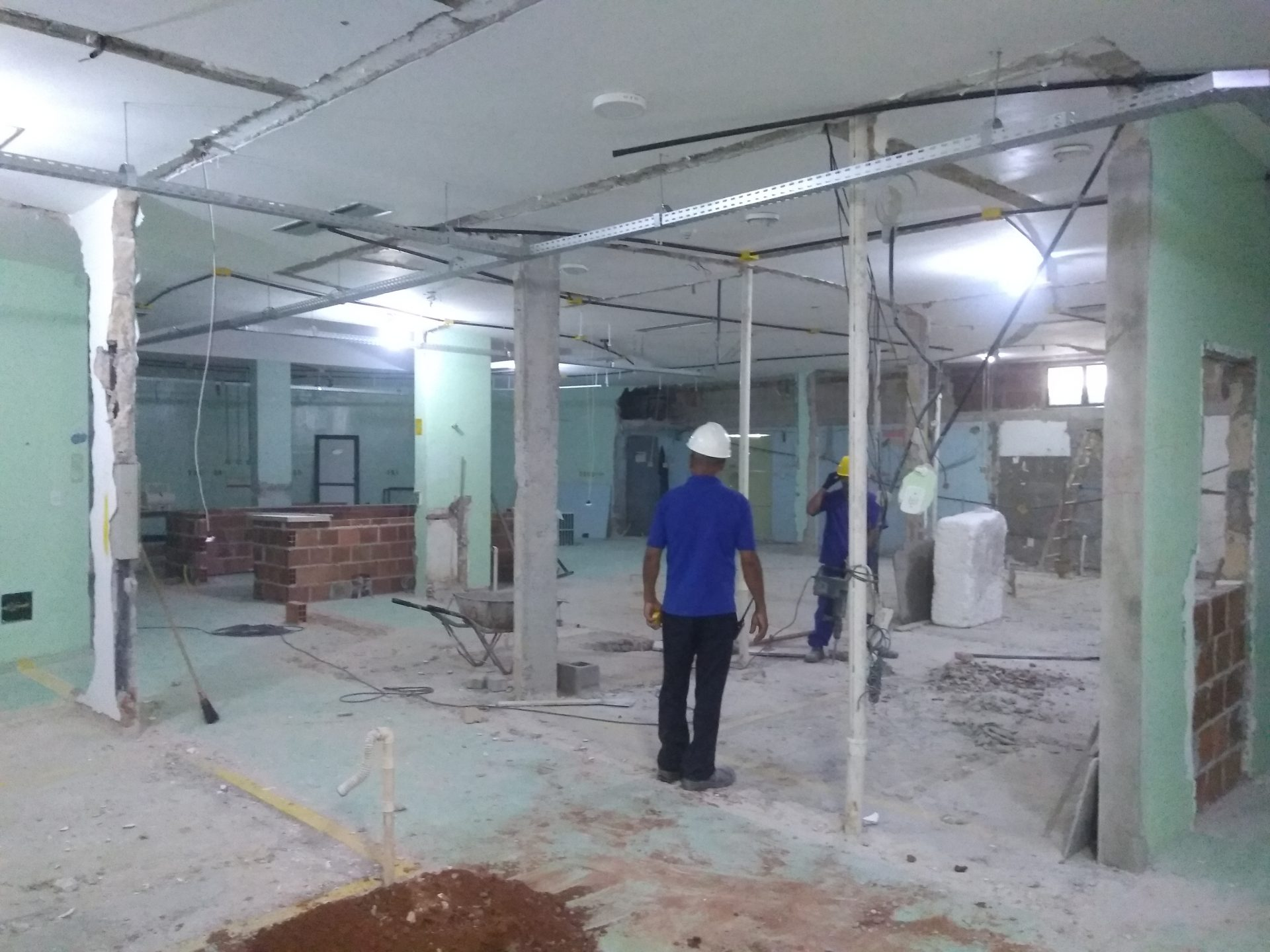 UTI B do Hospital Aeroporto passa por ampla reforma