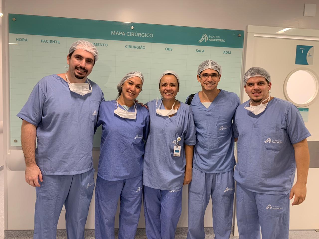 O Hospital Aeroporto apoiou a realização da 1ª Jornada de Endoscopia de Coluna da Bahia