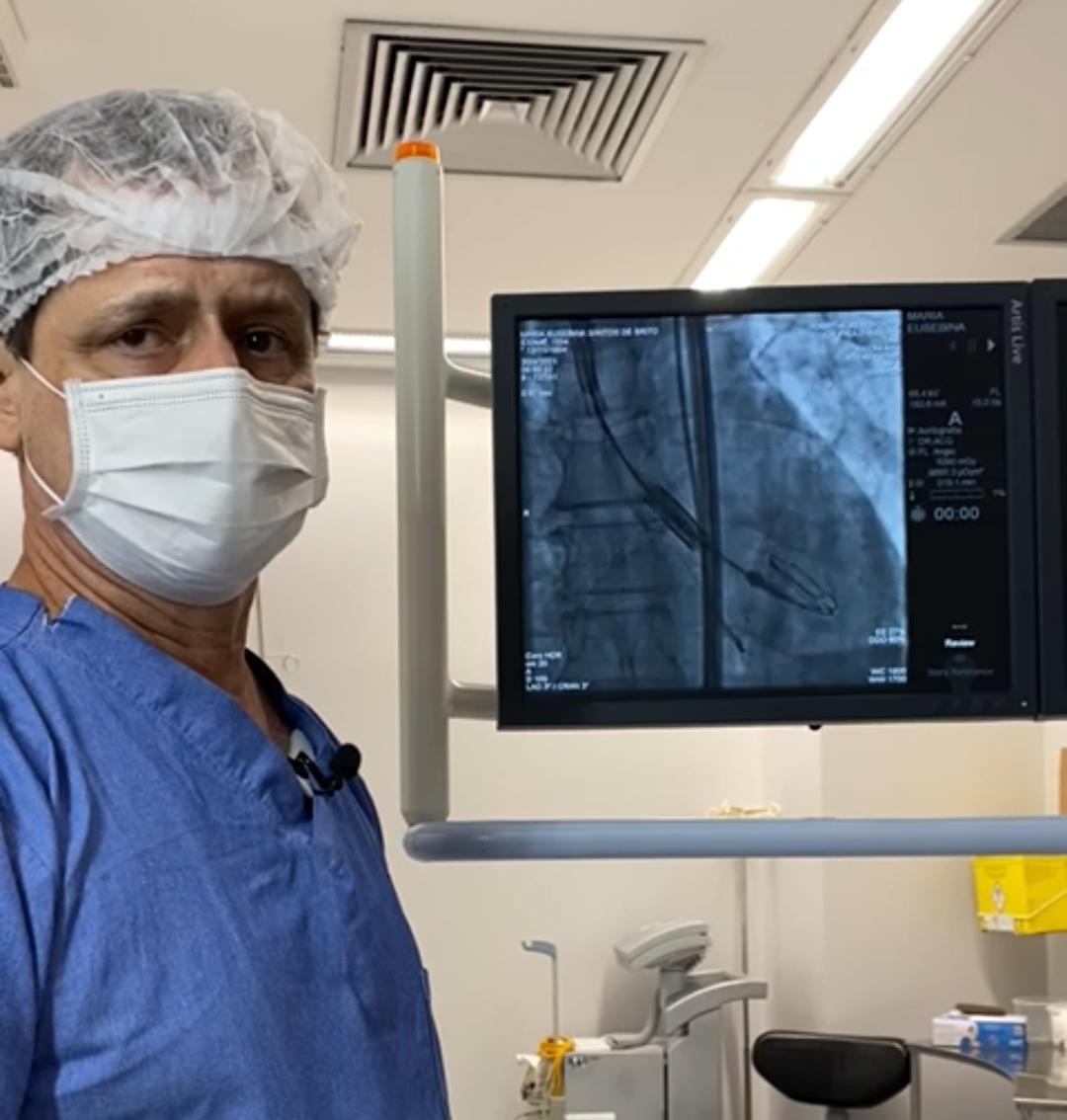 Procedimento cardíaco menos invasivo é realizado no Hospital Aeroporto